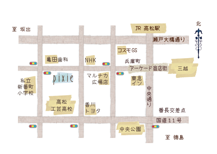 pixie map